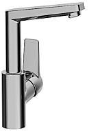 Hansa Waschtischarmatur Hansatwist 09552203 chrom, ohne Ablaufgarnitur, Ausladung 130mm
