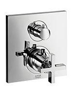 hansgrohe Brause Thermostat Axor Citterio 39725000 Unterputz, Kreuzgriff, mit Ab- und Umstellventil