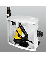 Jung Hebefix Plus Schmutzwasserhebeanlage JP44544 Behälter inkl. Pumpe U3KS
