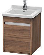 Duravit Ketho Waschtischunterschrank KT6662L7979 Nussbaum natur, links, für Starck 3 030348