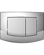 TECEambia WC-Betätigungsplatte 9240254 Rahmen chrom glänzend, Tasten chrom matt