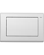 TECEplanus Betätigungsplatte 9240312 weiß seidenmatt, Einmengentechnik