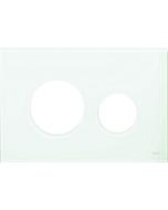 TECEloop Blende für WC-Betätigungsplatte 9240672 Glas asis grün