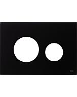 TECEloop Blende für WC-Betätigungsplatte 9240674 Glas schwarz