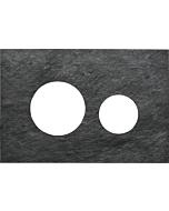 TECEloop Blende für WC-Betätigungsplatte 9240675 Steinplatte Schiefer