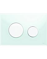 TECELoop Betätigungsplatte 9240651 Glas mintgrün, Tasten weiß