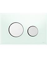 TECELoop Betätigungsplatte 9240653 Glas mintgrün, Tasten chrom glänzend