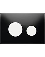 TECELoop Betätigungsplatte 9240654 Glas schwarz, Tasten weiß
