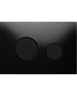 TECELoop Betätigungsplatte 9240657 Glas schwarz, Tasten schwarz