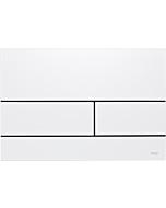 TECEsquare II Metall Betätigungsplatte 9240832 weiß glänzend RAL 9016