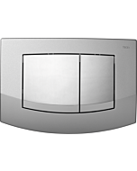TECEambia WC-Betätigungsplatte 9240253 Rahmen chrom matt, Tasten chrom glänzend
