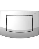 TECEambia WC-Betätigungsplatte 9240125 chrom matt, Einmengentechnik