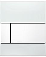 TECEsquare Urinal Betätigungsplatte 9242800 Glas weiss