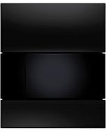 TECEsquare Urinal Betätigungsplatte 9242809 Glas schwarz, Tasten schwarz, mit Kartusche