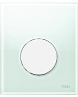 TECEloop Urinal Betätigungsplatte 9242651 Glas mintgrün, Taste weiß