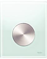 TECEloop Urinal Betätigungsplatte 9242662 Glas mintgrün,Taste Edelstahl rundgebürstet