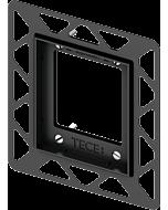 TECEloop Urinal Einbaurahmen 9242647 für flächenbündige Montage, schwarz