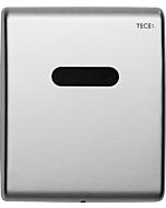 TECEplanus Urinal Betätigungsplatte 9242350 Edelstahl gebürstet, Elektronik, 6 V-Batterie