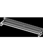 TECEdrainline Duschrinne 601501 1500mm,mit Wandaufkantung, Seal System Dichtband