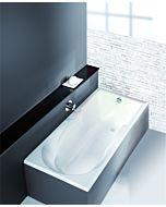 Hoesch Spectra Badewanne 3665.010  weiss, 170x80cm, mit Duschzone