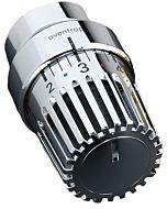 Oventrop Thermostatkopf Uni LH 1011469 chrom, fester Fühler