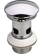 Viega Schaftventil 492595 Visign V1, G 1 1/4x63x75mm, Messing verchromt