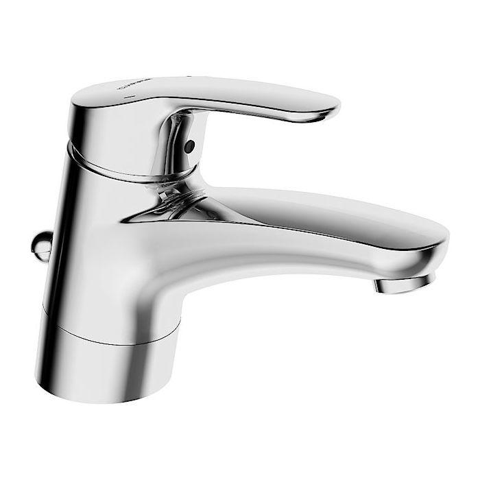 Hansa Faucet Hansamix Chrome With Hansamix Waste Swiveling