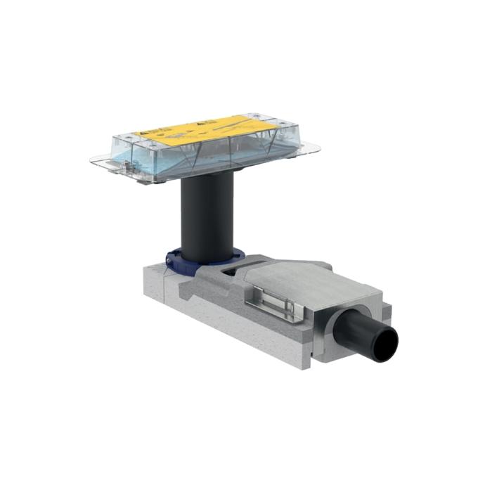Geberit Duschrinne CleanLine20 oder 60 mit Rohbauset 65-90mm Duschrinne 30-90cm