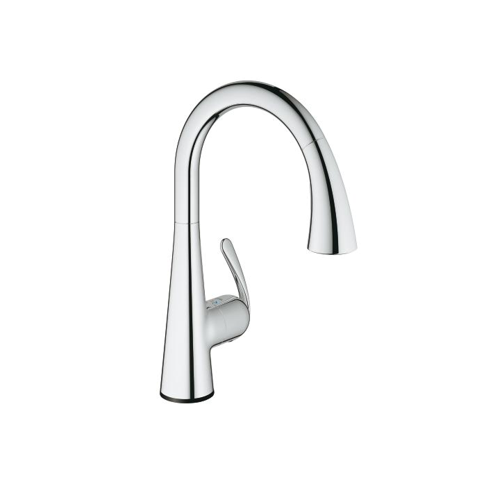 Grohe Zedra Touch Kitchen Faucet 30219001 Electronic Chrome Pull Out Spray
