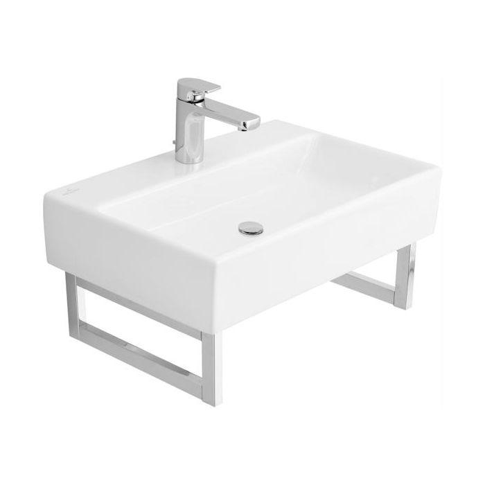 Villeroy & Boch Memento Waschtisch 513351R1 weiss mit Ceramicplus, ohne  Überlauf