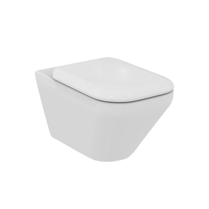 Ideal Standard Tonic.Ideal Standard Tonic Ii Wall Hung Toilet K315801 White Aquablade Technology