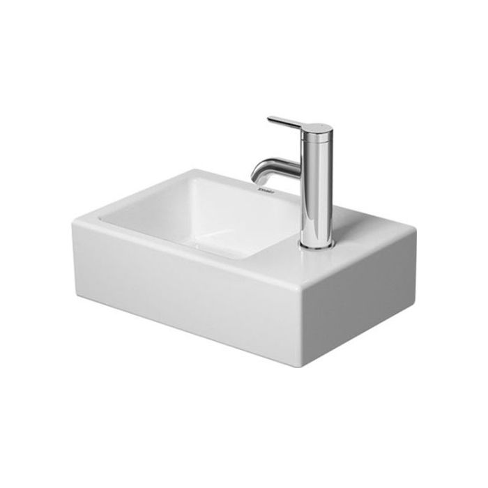 Duravit Vero Air Hand Washbasin 0724380000 38 X 25 Cm With Tap Hole Without Overflow White