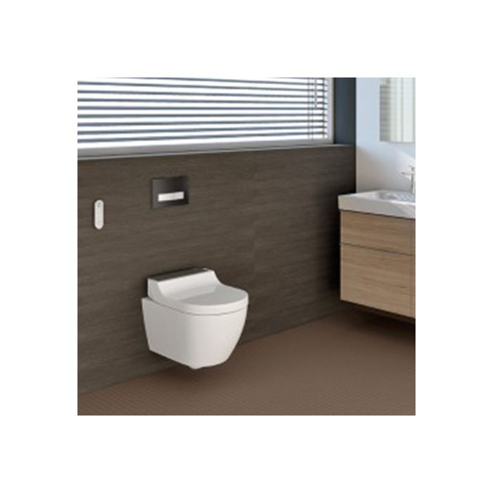 Geberit AquaClean Tuma Comfort 146290SJ1 WC-Komplettanlage, Wand-WC, schwarz