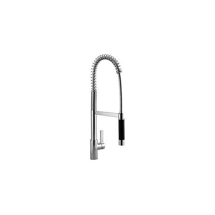Dornbracht Tara Professional Kitchen Faucet 3386087500 Spout 240 Mm Pendulum Shower Chrome