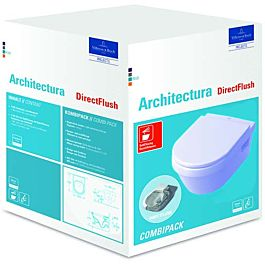 Villeroy Boch Omnia Architectura Wand WC Set Combipack spülrandlos 5684HR01