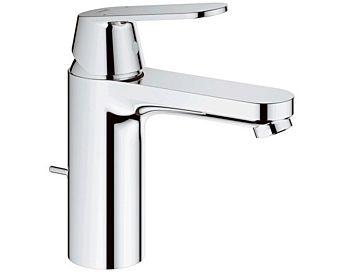 Grohe Eurosmart faucet 23325000 Cosmopolitan, chrome, EcoJoy, with pop-up waste