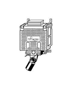 Viega Mono Vorwand Block  8337.2 606749 aus Kunststoff zitrogelb