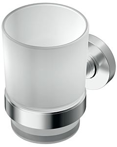 Ideal Standard glass holder IOM A9120AA chromed, satined glass