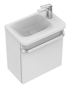 Ideal Standard Tonic II Waschtischunterbau R4306FE Eiche grau Dekor, für Anschlag rechts