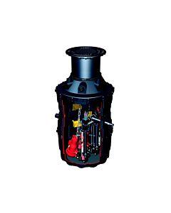 Kessel Doppel-Pumpstation LW 1000 Aqualift F 4130-4630mm, 50/80, 1,9kW, Scht., Abd. B