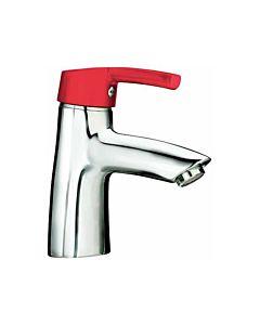 Laufen Florakids Waschtisch-Einhebelmischer  H3116510241101, rot, ohne Ablaufgarnitur