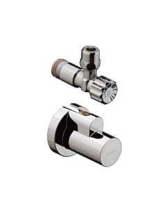 hansgrohe Eckventil 13954000 chrom, 10 mm Quetschverschraubung und Schuber