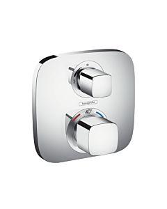 hansgrohe Ecostat E Brause Thermostat 15707000 Unterputz Thermostat, für 1 Verbraucher, chrom