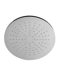 Herzbach Design New Regenbrause 11600228101 228 mm, chrom, rund, mit Clean-Effekt