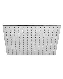 Herzbach Living Spa iX Regenbrause 19200200109 edelstahl, 200 mm, Slim 6 mm, mit Clean-Effekt