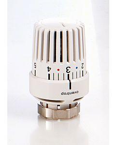 Oventrop Thermostatkopf Uni LDVL 1616675 weiss, Klemmverschraubung, für Danfoss RAVL