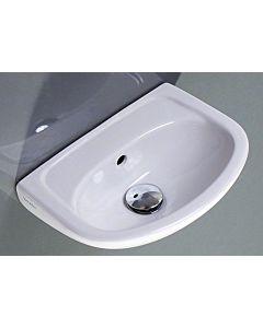 Duravit Handwaschbecken Duraplus Compact 36,5 x 26,5 cm, pergamon, Hahnlochvorstich seitl.