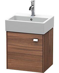 Duravit Brioso Waschtischunterbau BR4050L1079 434x339mm, Nussbaum Natur/Chrom, Tür links