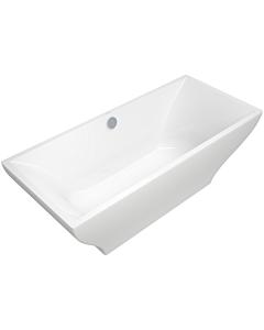 Baignoire rectangulaire Villeroy & Boch La Belle Duo BQ180LAB2PDT1V1, 180x80 cm, à poser, blanc
