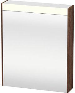 Duravit Brioso LED-Spiegelschrank BR7101L2121 620x760mm, Nussbaum Dunkel, Tür links